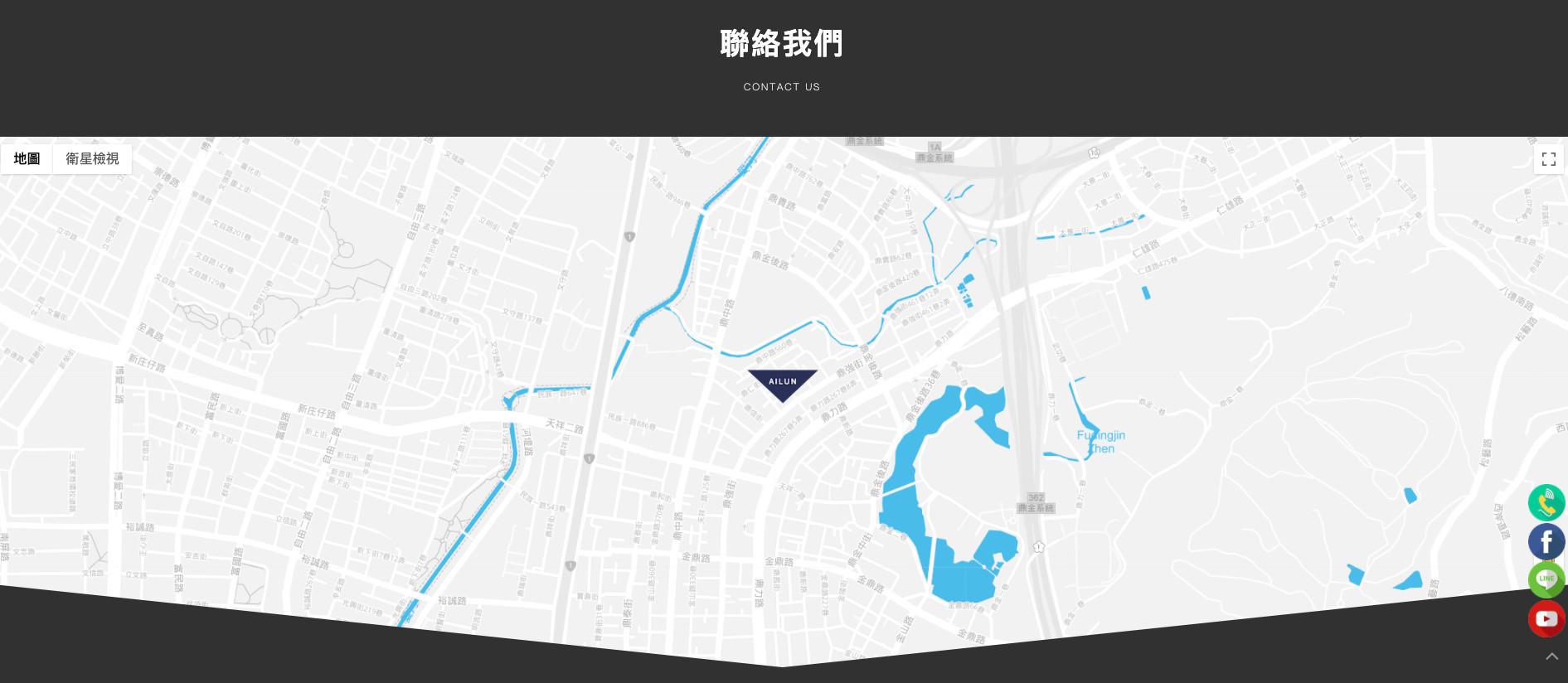 高雄SEO優化網頁設計成功案例-聯絡我們地圖 宜合興機車零件及輪胎貿易商