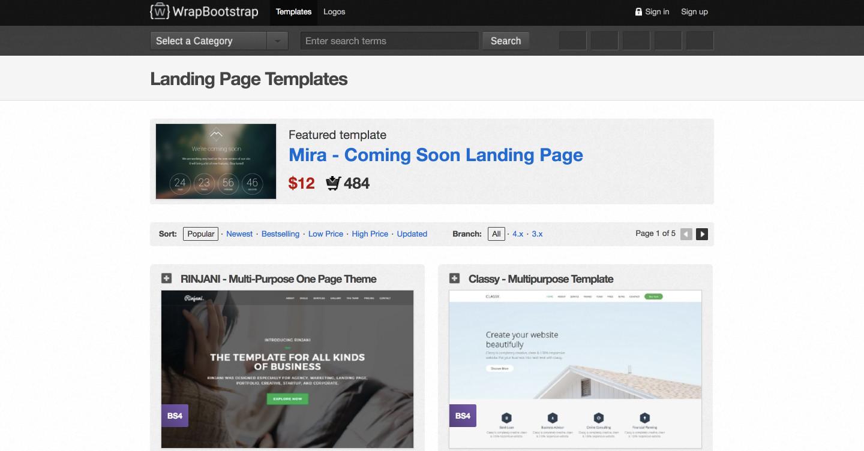 WrapBoostrap國際網頁設計版型-鯊客科技