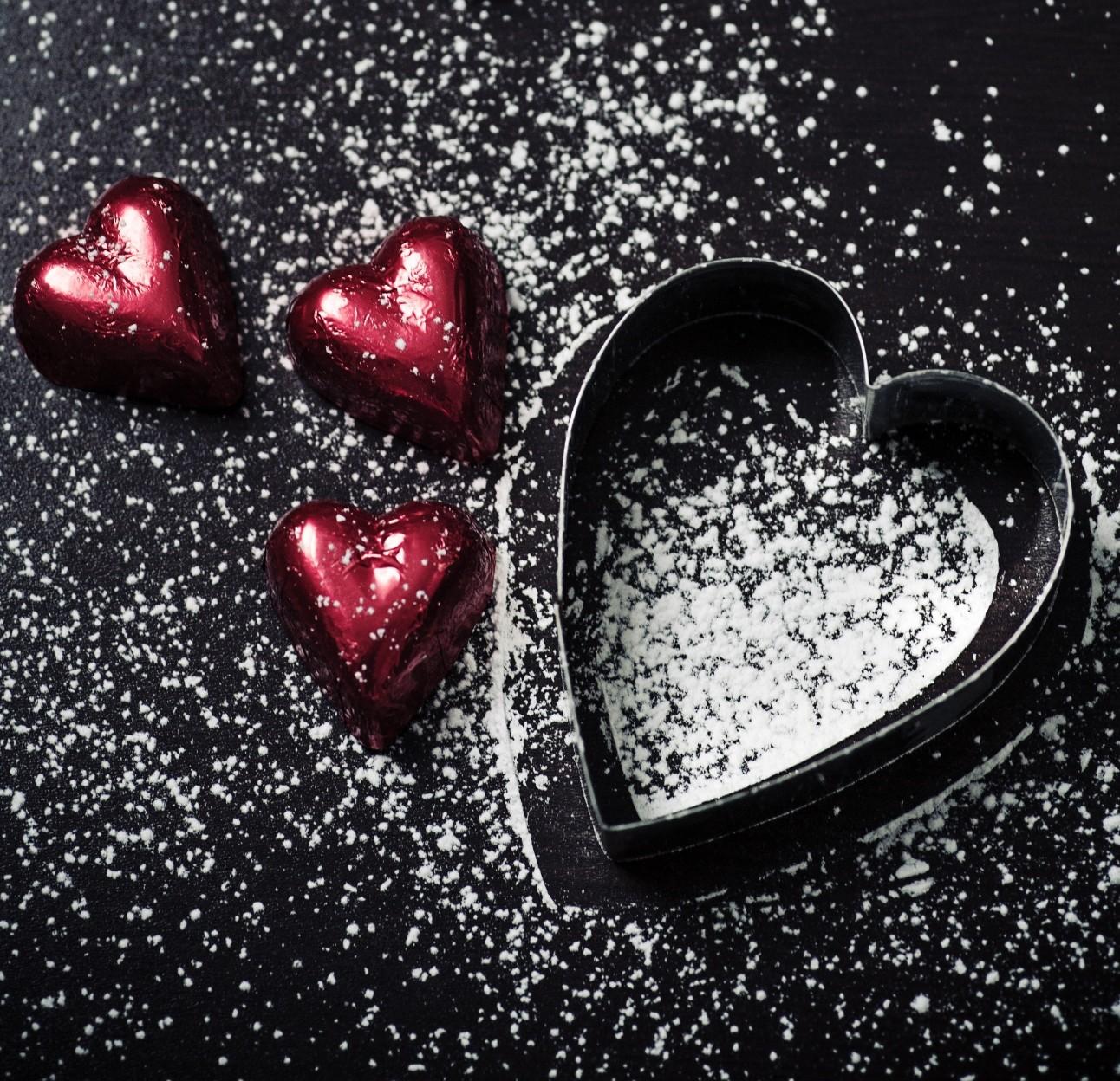 巧克力經常被當成情人節禮物的首選