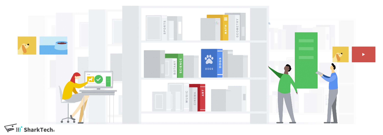 Google搜尋引擎就像一座大型圖書館-鯊客科技SEO網站優化公司