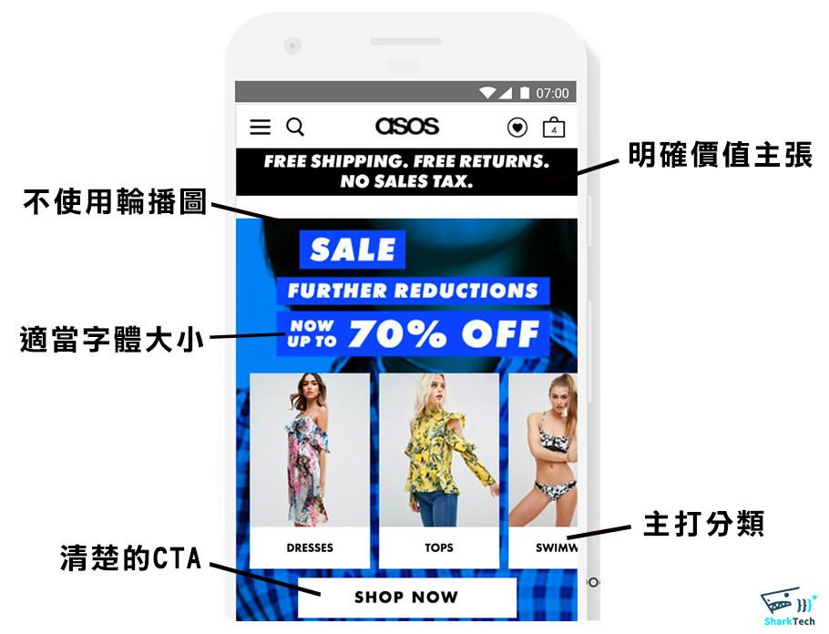Google UX playbook for retail 著陸頁-鯊客科技網站SEO優化公司