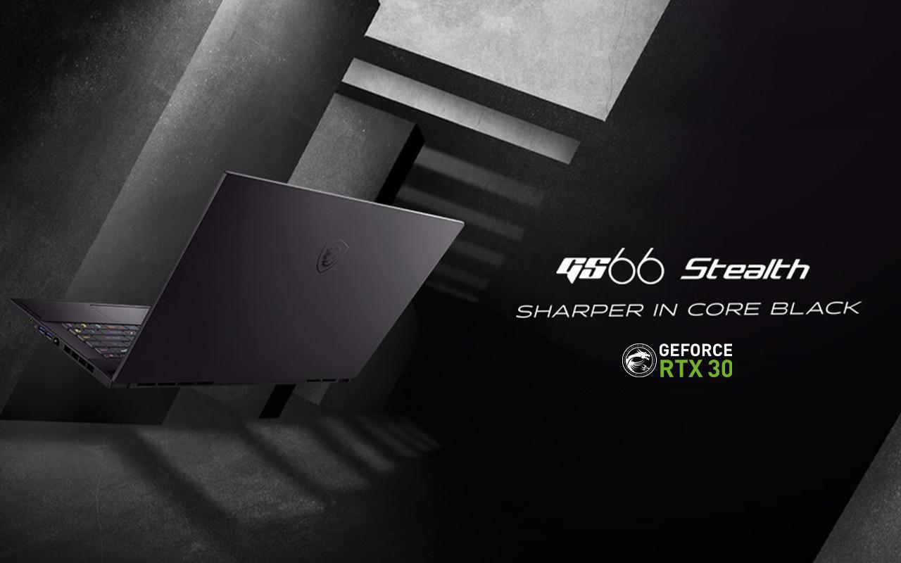 MSI電競手提電腦推薦-GS66 Stealth|全球電競領導品牌MSI舉辦MSIology線上發表大會