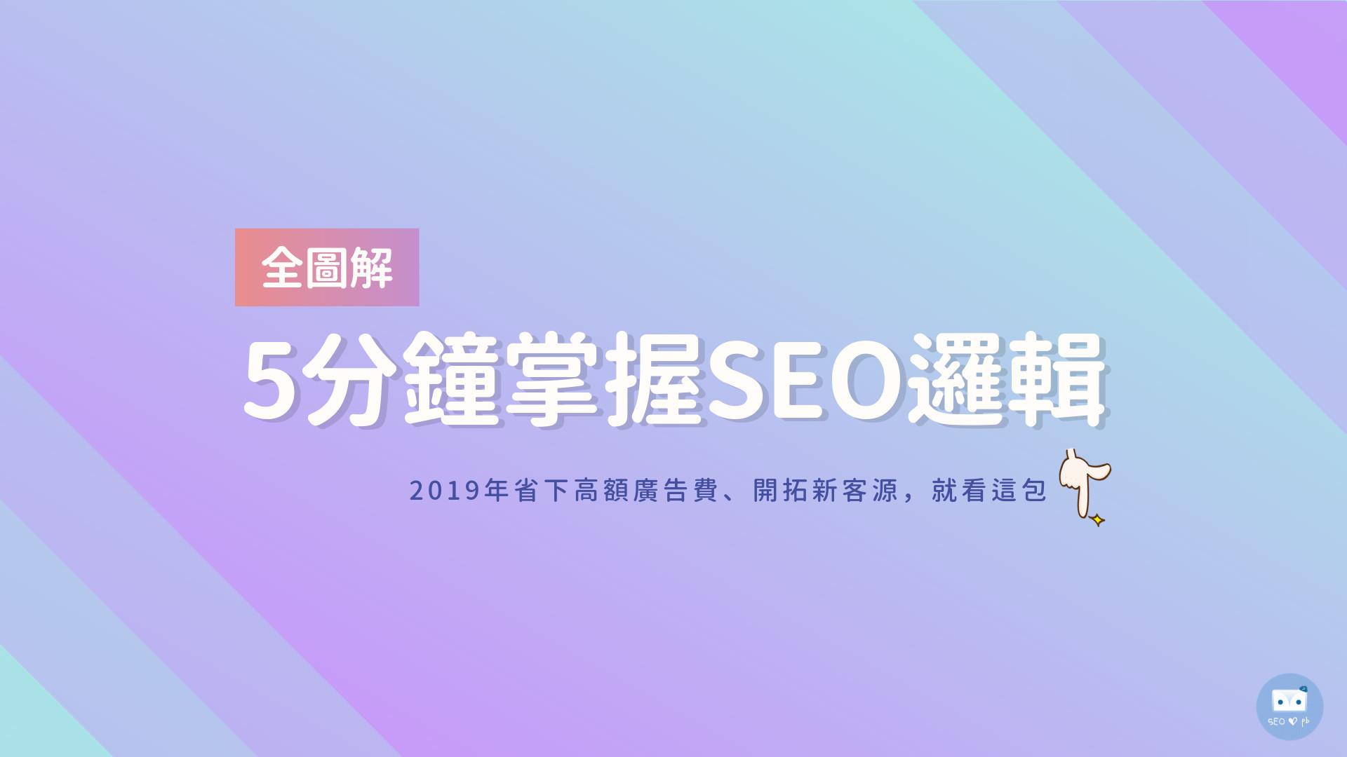 2019 SEO優化入門懶人包首圖-鯊客科技SEO優化公司