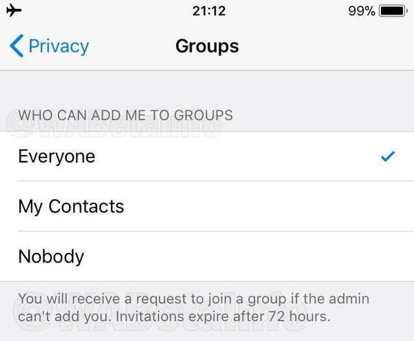 Whatsapp加入群組隱私設定-鯊客科技SEO網站優化公司