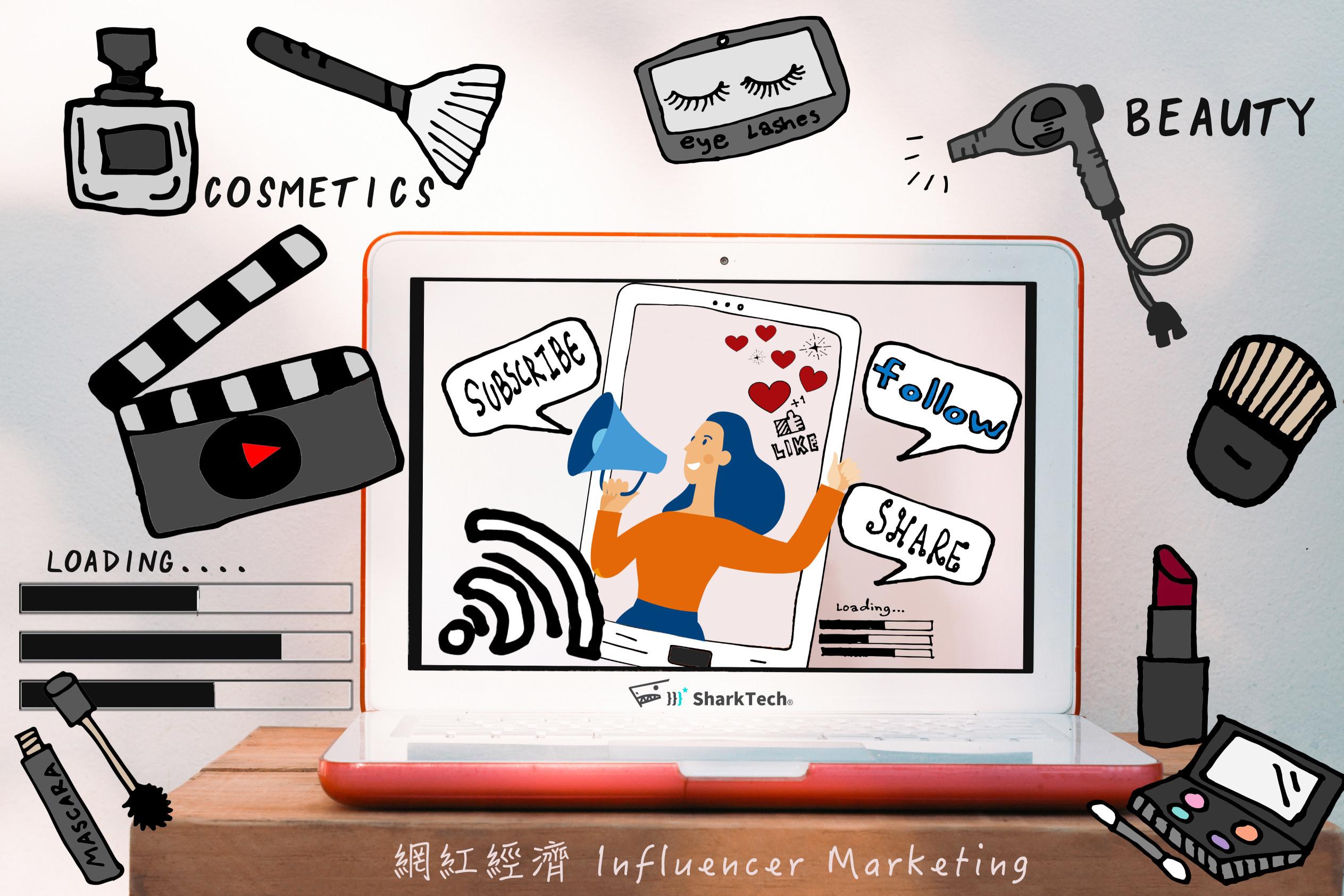 網紅經濟KOL行銷,運用社群影響力創造營收首圖-鯊客科技SEO網路行銷公司