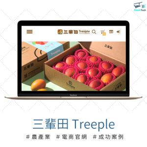 【SEO網頁設計成功案例】三輩田 Treeple