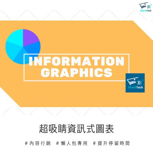 寫不出吸引人的文章嗎?試試看資訊圖表(Infographics)的威力吧!