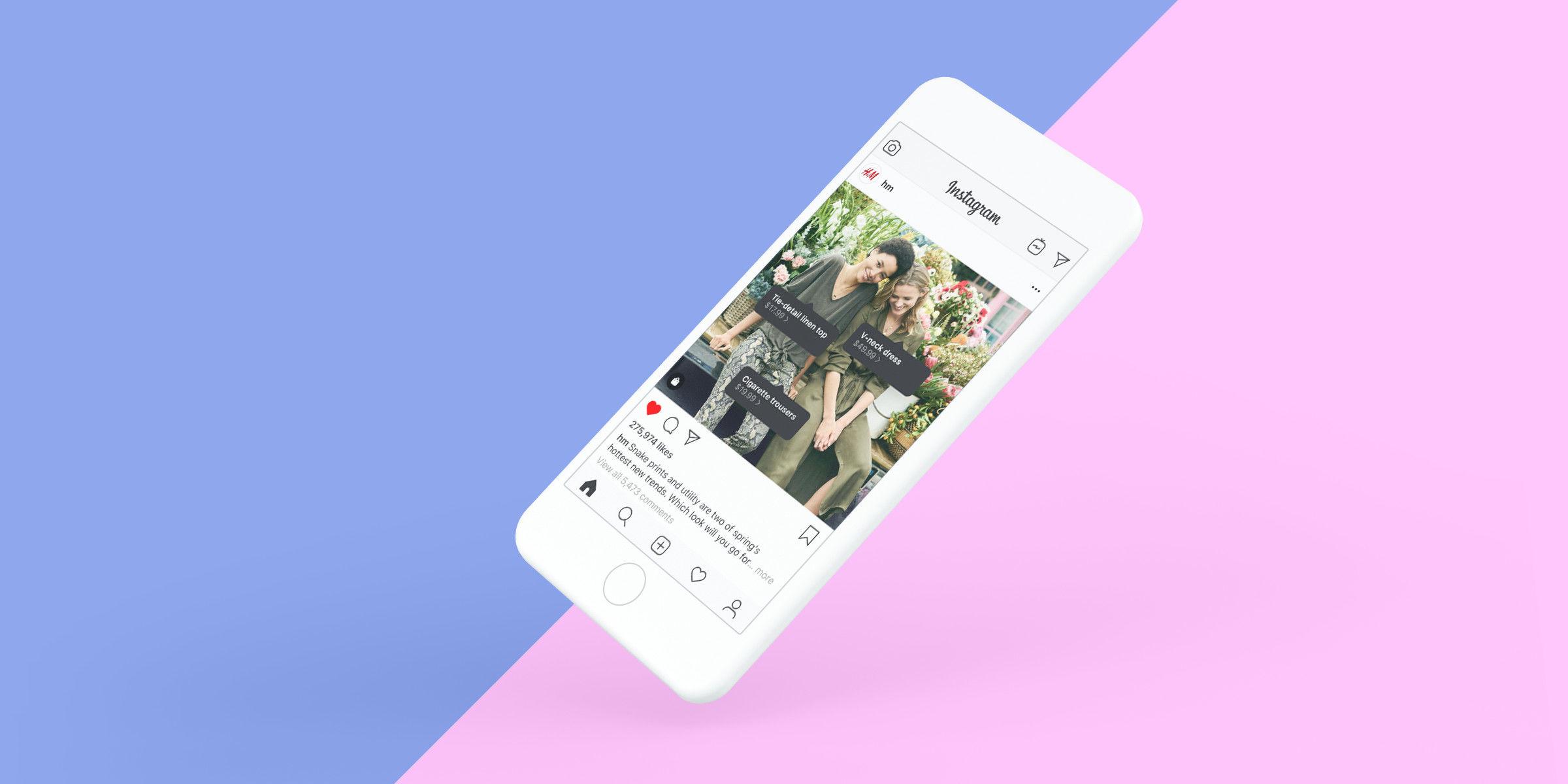 Instagram 除了產品標註更推出購物按鈕checkout-鯊客科技SEO網頁設計公司