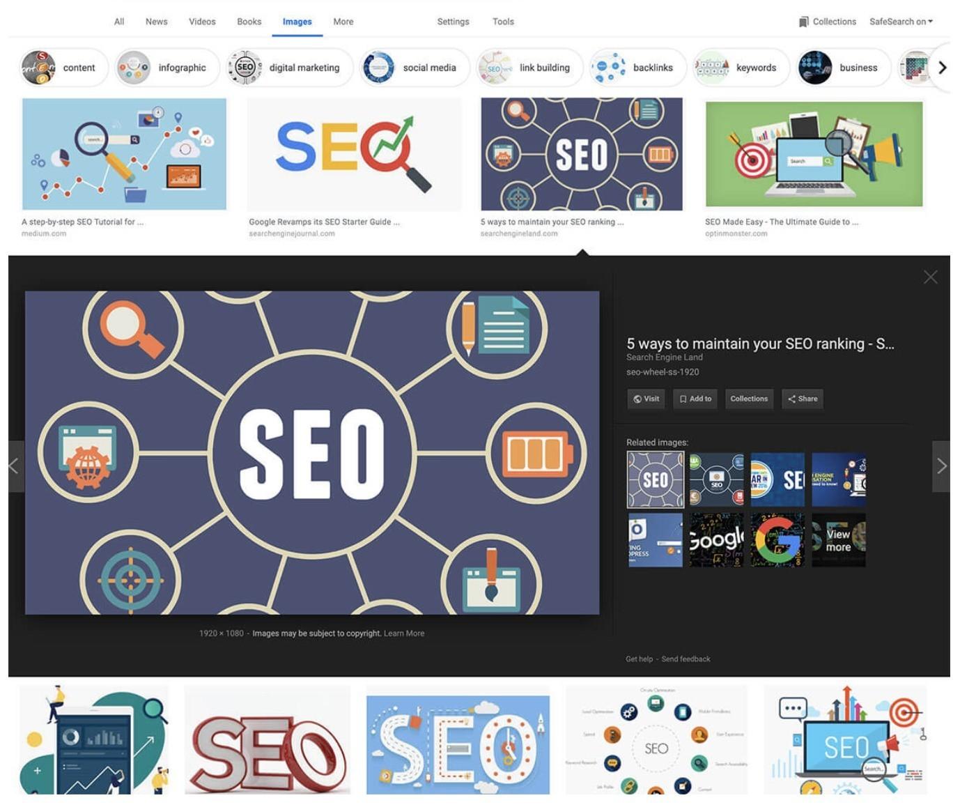 Google搜圖引擎-舊版預覽窗格 鯊客科技SEO優化網路行銷公司