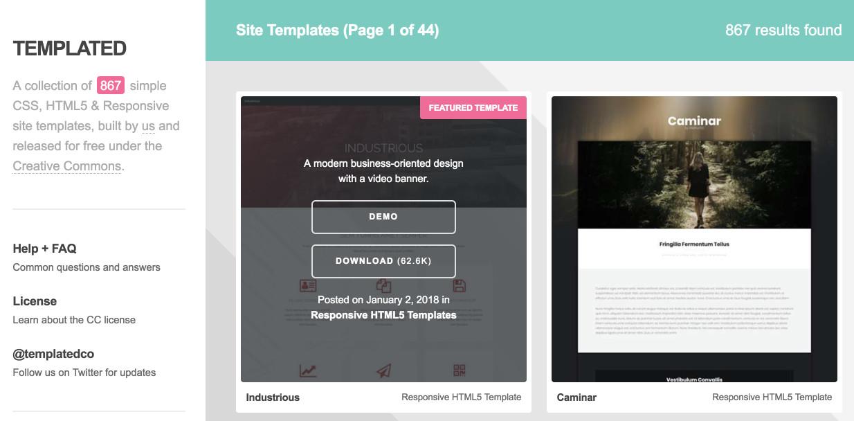 Templated國際網頁設計樣板-鯊客科技