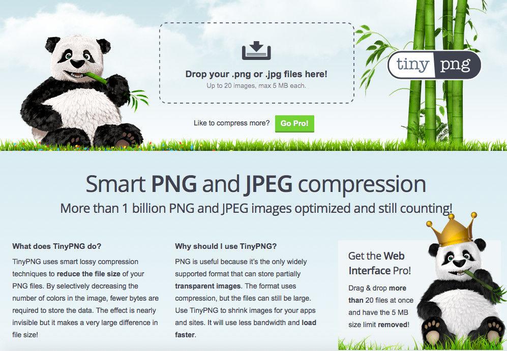 tinypng網站