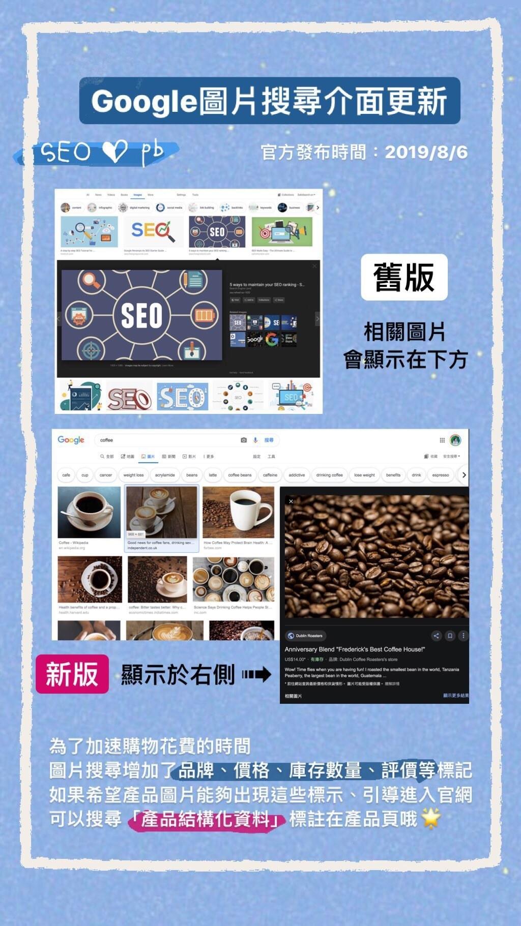 Google圖片搜尋介面更新 seo_pb Instagram