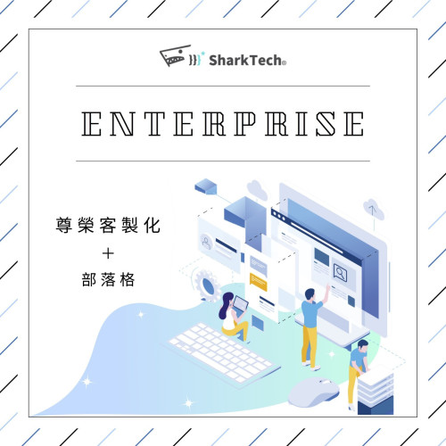 【大企業尊榮方案】SEO客製化網站+Blog